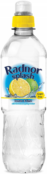 Radnor Splash Lemon & Lime Flavoured Water 24x500ml